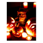 Pumpkin Patch Gnome III Postcard