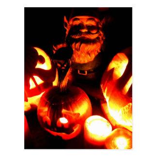 Pumpkin Patch Gnome IV Postcard