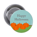 Pumpkin Patch Halloween Button