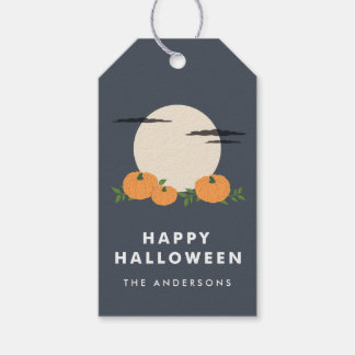 Pumpkin Patch Halloween Gift Tags