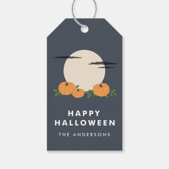 pumpkin patch halloween gift tags - Halloween Gift Tag