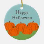 Pumpkin Patch Halloween Ornament