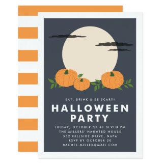 Pumpkin Patch Halloween Party Invitation
