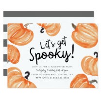 Pumpkin Patch Halloween Party Invitation