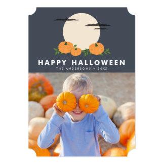 Pumpkin Patch Halloween Photo Card