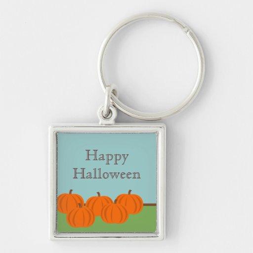 Pumpkin Patch Halloween Premium Keychain