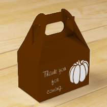 Pumpkin Patch in Chocolate Favor Box