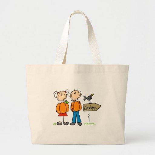 Pumpkin Patch Jumbo Tote Bag