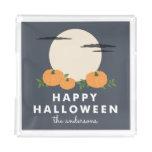 Pumpkin Patch Personalized Halloween Acrylic Tray