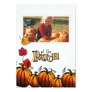 Pumpkin Patch photo card
