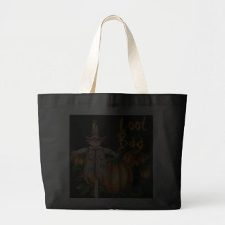 PUMPKIN PATCH, SCARECROW LOOT BAG by SHARON SHARPE