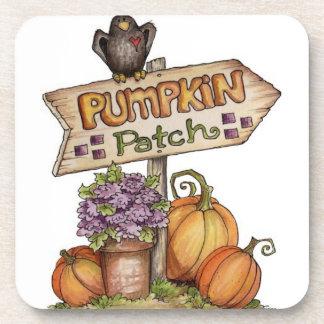 Pumpkin Patch - set of 6 coasters