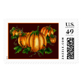 PUMPKIN PATCH STAMP by SHARON SHARPE