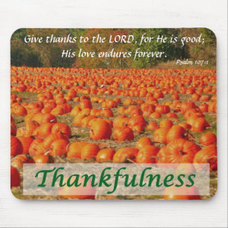 Pumpkin Patch - Thankfulness Mouse Pad