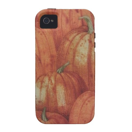 Pumpkin Patch Vibe iPhone 4 Cover
