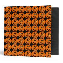 Pumpkin Pattern Avery Binder