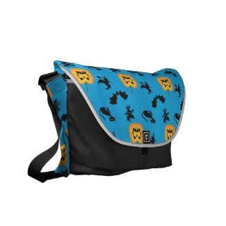 halloween messenger Bag