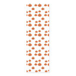 Pumpkin pattern in orange and white Double-Sided mini business cards (Pack of 20)