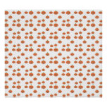 Pumpkin pattern in orange and white posters