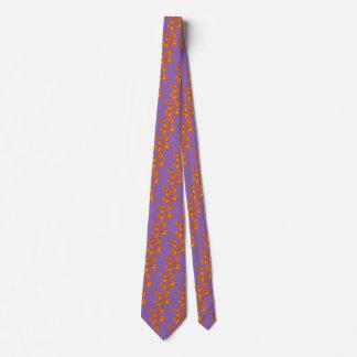 Pumpkin Pattern Neck Tie