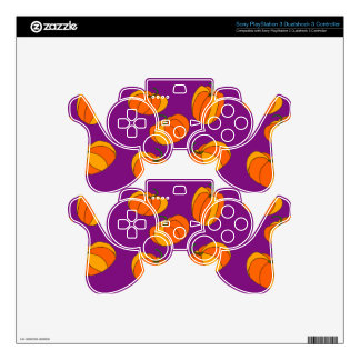 Pumpkin Pattern on Playstation 3 Controller Skin Skin For PS3 Controller