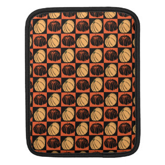 Pumpkin patterns sleeve for iPads
