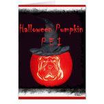 Pumpkin Pei Card
