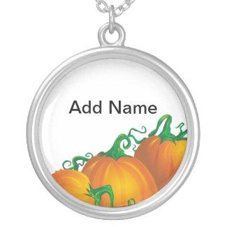 Pumpkin Pendant necklace