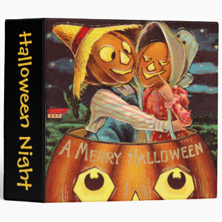 Pumpkin People 3 Ring Binder