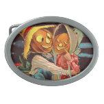 Pumpkin People Belt Buckle
