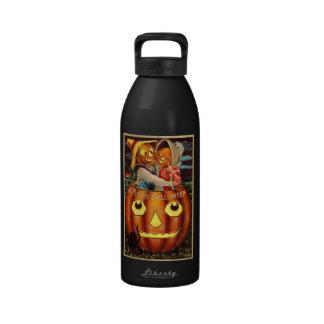 Pumpkin People Reusable Water Bottle