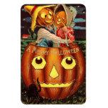 Pumpkin People Vinyl Magnets