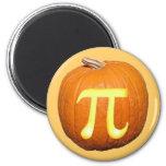 Pumpkin Pi 2 Inch Round Magnet