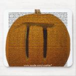 Pumpkin Pi, 3.14159265358979323846264338327950... Mouse Pad
