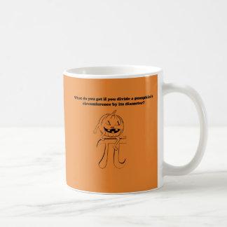 Pumpkin Pi Math Halloween Coffee Mug