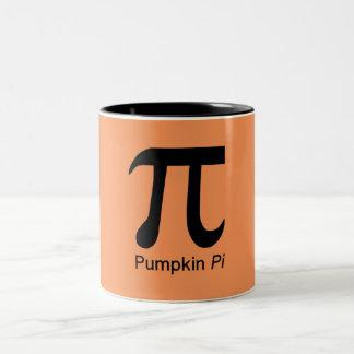 pumpkin pi mug