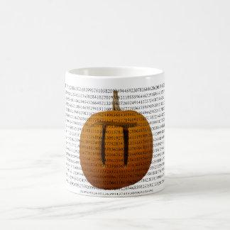 Pumpkin Pi Mug with digits