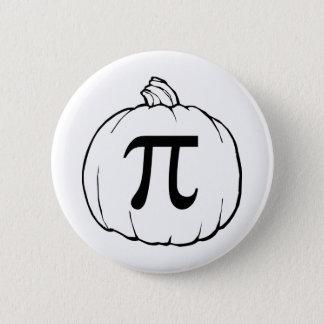 Pumpkin Pi (pie) Mathematics Humour Button