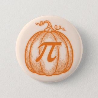 Pumpkin Pi Pinback Button