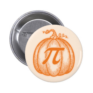 Pumpkin Pi Pinback Button