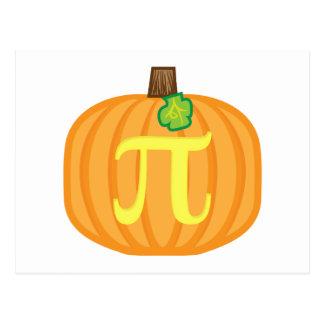 Pumpkin Pi Postcard