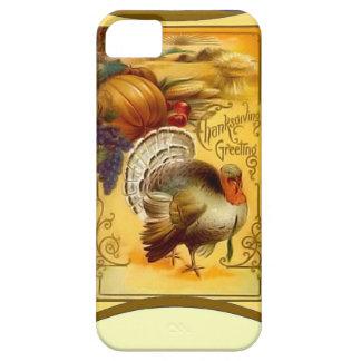 Pumpkin pie and Turkey iPhone SE/5/5s Case