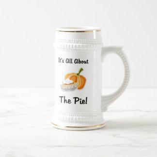 Pumpkin Pie Beer Stein