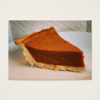 Pumpkin Pie Business Cards