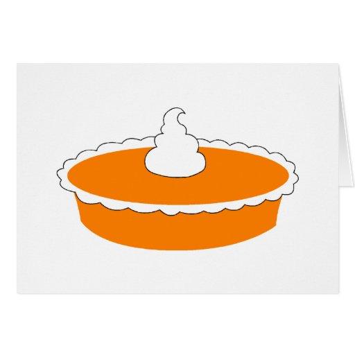 Pumpkin Pie Card