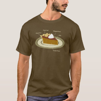 Pumpkin Pie Chart T-Shirt