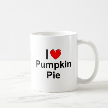Valentines Themed Pumpkin Pie Coffee Mug