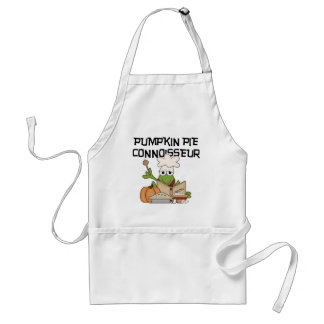 Pumpkin Pie Connoisseur Tshirts and Gifts Adult Apron