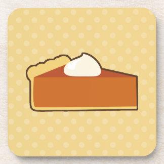 Pumpkin Pie Drink Coaster
