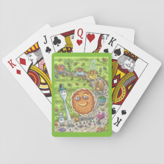 Pumpkin Pie Is Coming.  THANKSGIVING PLAYING CARDS